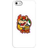 Nintendo Super Mario Bowser Kanji Phone Case - iPhone 5/5s - Snap Case - Matte