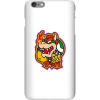 Nintendo Super Mario Bowser Kanji Phone Case - iPhone 6 Plus - Snap Case - Matte
