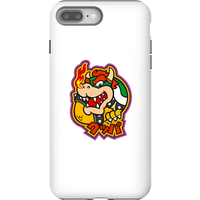 Nintendo Super Mario Bowser Kanji Phone Case - iPhone 8 Plus - Tough Case - Matte