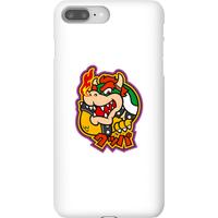 Nintendo Super Mario Bowser Kanji Phone Case - iPhone 8 Plus - Snap Case - Gloss