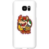 Nintendo Super Mario Bowser Kanji Phone Case - Samsung S7 Edge - Snap Case - Gloss