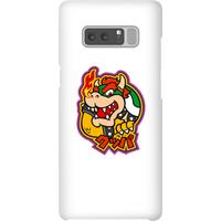 Nintendo Super Mario Bowser Kanji Phone Case - Samsung Note 8 - Snap Case - Gloss