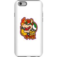 Nintendo Super Mario Bowser Kanji Phone Case - iPhone 6 - Tough Case - Gloss