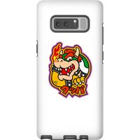 Nintendo Super Mario Bowser Kanji Phone Case - Samsung Note 8 - Tough Case - Gloss