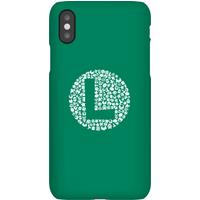 Nintendo Super Mario Luigi Items Logo Phone Case - iPhone XS - Snap Case - Matte