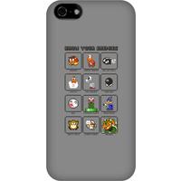 Nintendo Super Mario Know Your Enemies Phone Case - iPhone 5C - Snap Case - Gloss