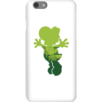 Nintendo Super Mario Yoshi Silhouette Phone Case - iPhone 6S - Snap Case - Gloss
