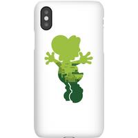 Nintendo Super Mario Yoshi Silhouette Phone Case - iPhone X - Snap Case - Gloss