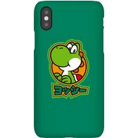Nintendo Super Mario Yoshi Kanji Phone Case - iPhone 11 - Snap Case - Matte