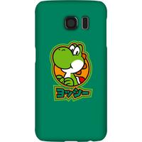 Nintendo Super Mario Yoshi Kanji Phone Case - Samsung S6 - Snap Case - Matte