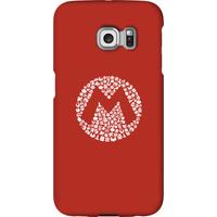 Nintendo Super Mario Mario Items Logo Phone Case - Samsung S6 Edge Plus - Snap Case - Gloss