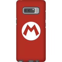 Nintendo Super Mario Mario Logo Phone Case - Samsung Note 8 - Tough Case - Matte