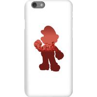 Nintendo Super Mario Mario Silhouette Phone Case - iPhone 6S - Snap Case - Matte