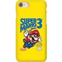 Nintendo Super Mario Bros 3 Phone Case - iPhone 8 Plus - Snap Case - Gloss
