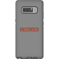 Nintendo Donkey Kong Distressed Phone Case - Samsung Note 8 - Tough Case - Matte