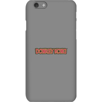 Nintendo Donkey Kong Distressed Phone Case - iPhone 6S - Snap Case - Gloss