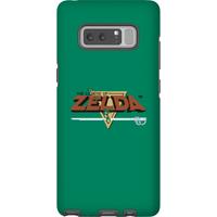 Nintendo The Legend Of Zelda Retro Logo Phone Case - Samsung Note 8 - Tough Case - Matte