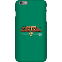 Nintendo The Legend Of Zelda Retro Logo Phone Case - iPhone 6 Plus - Snap Case - Gloss