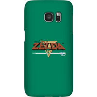 Nintendo The Legend Of Zelda Retro Logo Phone Case - Samsung S7 - Snap Case - Gloss