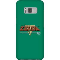 Nintendo The Legend Of Zelda Retro Logo Phone Case - Samsung S8 - Snap Case - Gloss