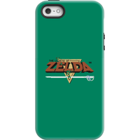 Nintendo The Legend Of Zelda Retro Logo Phone Case - iPhone 5/5s - Tough Case - Gloss