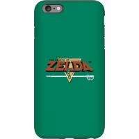 Nintendo The Legend Of Zelda Retro Logo Phone Case - iPhone 6 Plus - Tough Case - Gloss