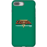 Nintendo The Legend Of Zelda Retro Logo Phone Case - iPhone 8 Plus - Tough Case - Gloss