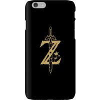 Nintendo The Legend Of Zelda Master Sword Phone Case - iPhone 6 - Snap Case - Matte