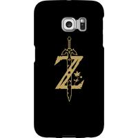 Nintendo The Legend Of Zelda Master Sword Phone Case - Samsung S6 Edge - Snap Case - Matte