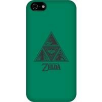 Nintendo The Legend Of Zelda Triforce Phone Case - iPhone 5C - Snap Case - Matte
