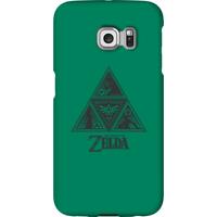 Nintendo The Legend Of Zelda Triforce Phone Case - Samsung S6 Edge - Snap Case - Matte