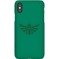 Nintendo The Legend Of Zelda Tribal Hyrule Crest Phone Case - iPhone 8 Plus - Snap Case - Gloss