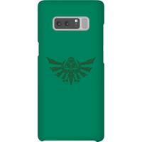 Nintendo The Legend Of Zelda Tribal Hyrule Crest Phone Case - Samsung Note 8 - Snap Case - Matte