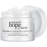 Crema de contorno de ojos Renewed Hope in a Jar de philosophy 15 ml