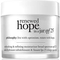 Crema hidratante con SPF25 Renewed Hope in a Jar de philosophy 60 ml