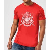 Harry Potter Hogwarts House Crest Men's T-Shirt - Red - XXL - Red