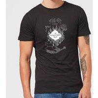 Harry Potter The Marauder's Map Men's T-Shirt - Black - L - Black