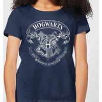 Harry Potter Hogwarts Crest Women's T-Shirt - Navy - XXL - Navy - Harry Potter Gifts
