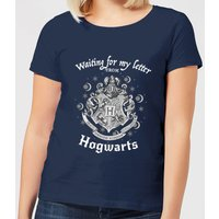 Harry Potter Waiting For My Letter From Hogwarts Women's T-Shirt - Navy - XXL - Navy - Harry Potter Gifts
