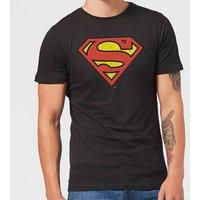 Originals Official Superman Crackle Logo Men's T-Shirt - Black - XS - Black