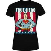 DC Originals Superman True Hero Women's T-Shirt - Black - XL - Black