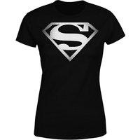 DC Originals Superman Spot Logo Women's T-Shirt - Black - XXL - Black - Dc Gifts