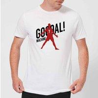 Goal Machine Men's T-Shirt - White - XL - White