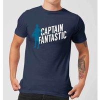 Captain Fantastic Mens T-Shirt - Navy - M - Navy
