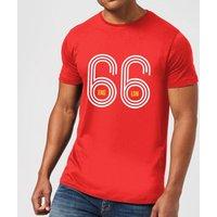 England 66 Men's T-Shirt - Red - XL - Red