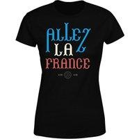 Allez La France Women's T-Shirt - Black - XXL - Black