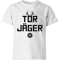 TOR JAGER Kids' T-Shirt - White - 7-8 Years - White