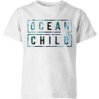 My Little Rascal Ocean Child Kids' T-Shirt - White - 9-10 Years - White