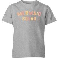 My Little Rascal Mermaid Squad Kids' T-Shirt - Grey - 9-10 Years - Grey