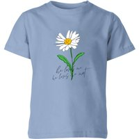 My Little Rascal He Loves Me, He Loves Me Not Kids' T-Shirt - Baby Blue - 3-4 Years - Baby Blue - Baby Gifts